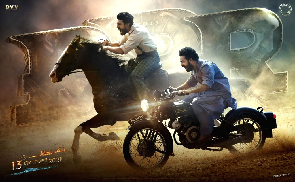 SS Rajamouli's multistarrer 'RRR' in cinemas on October 13