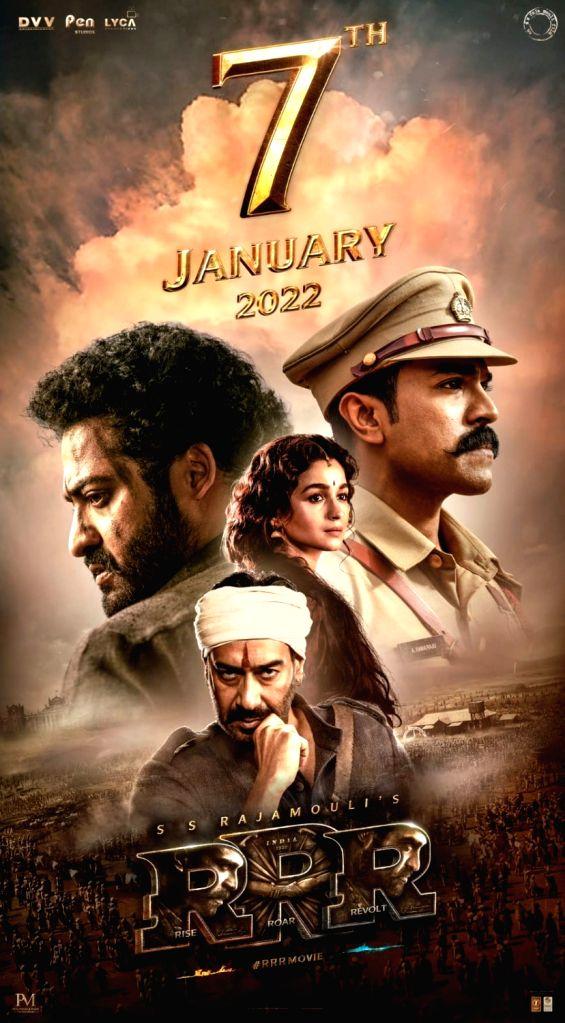 SS Rajamouli's 'RRR' locks Jan 7 as pan India release date