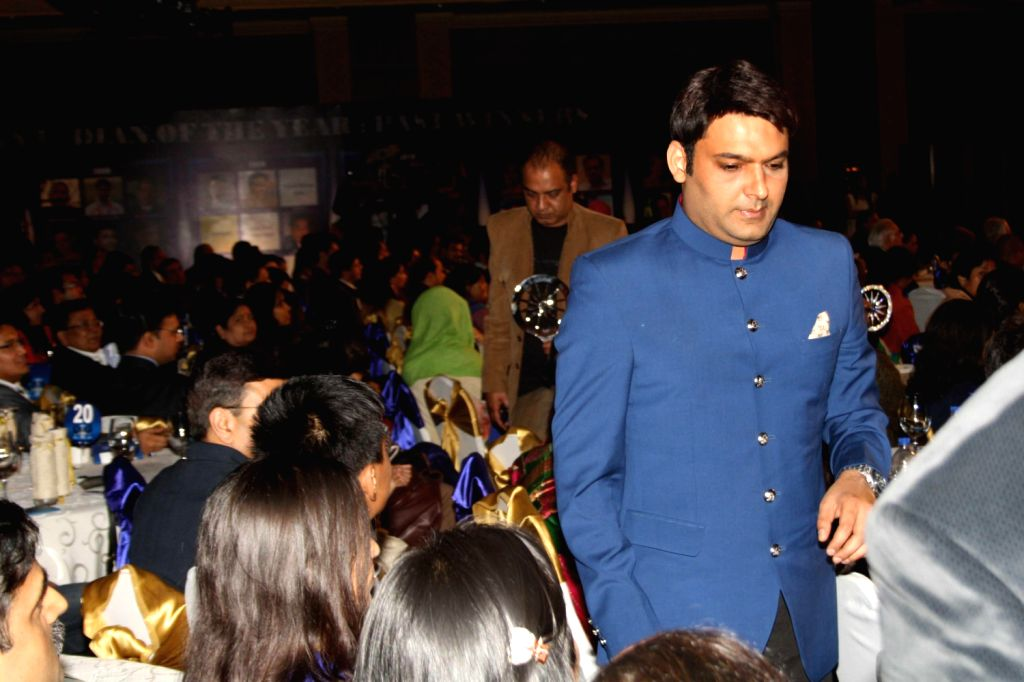 Stand-up comedian and actor Kapil Sharma during The CNN-IBN Indian of the Year awards function, in New delhi on December 20, 2013. - Kapil Sharma