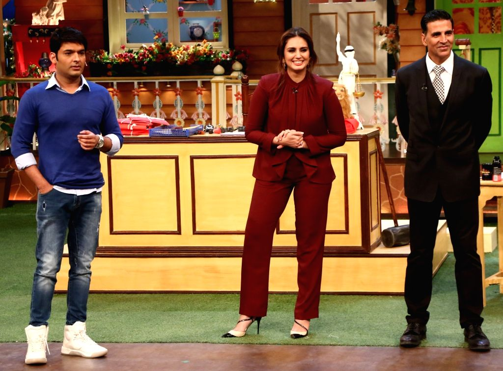 Promotion of film Jolly LLB 2 on the sets of The Kapil