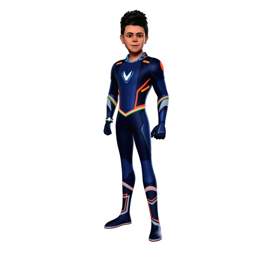 "Star cricketer Virat Kohli will soon be seen in an animated superhero avatar in the small screen series, ""Super V"". - Virat Kohli"