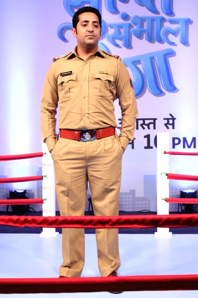 Star Plus promote the upcoming show `Sumit Sambhal Lega`, in New Delhi, on Aug 18, 2015. Sumit Walia is being played by Namit Das, Manasi Parekh will be seen essaying the role of Maya, his ... - Bharati Achrekar