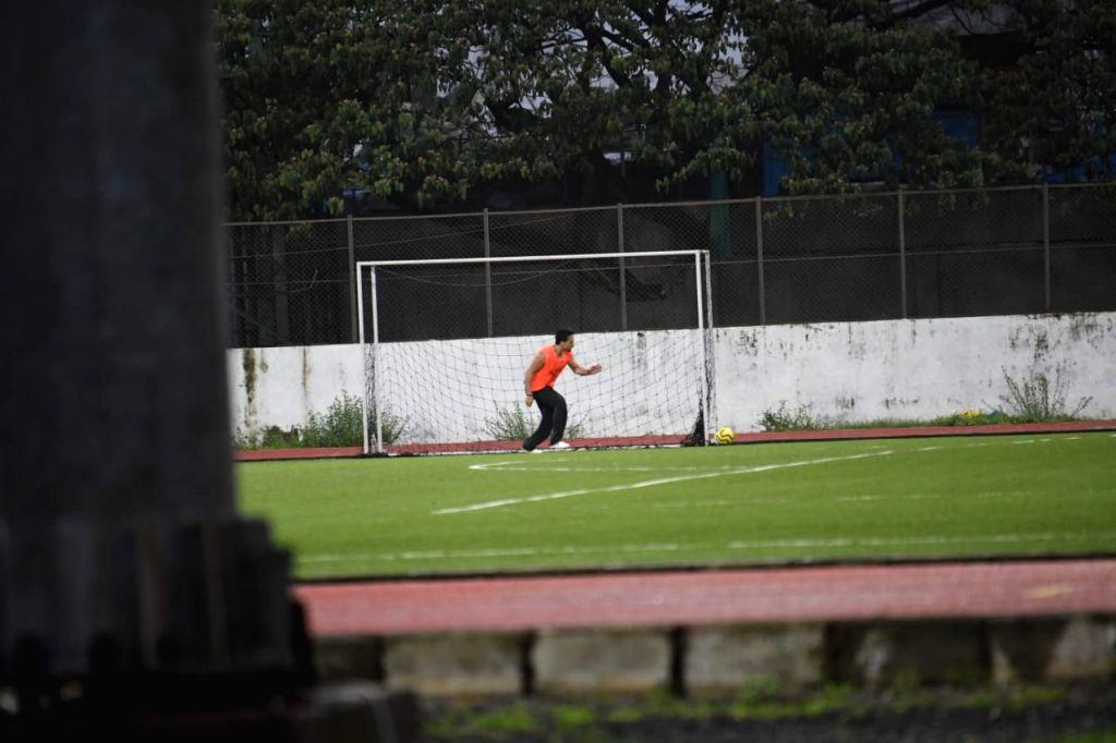 Stars Football Practice at Bandra on Sunday June 20,2021.