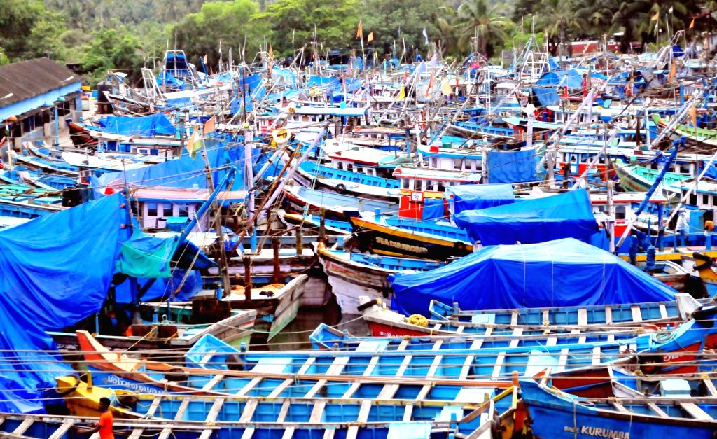 Starting June 9 midnight around 5,000 fishing trawlers will have to keep 12 nautical miles away from the Kerala coast as the 52-day-long trawling ban will come into effect. (Photo: IANS)
