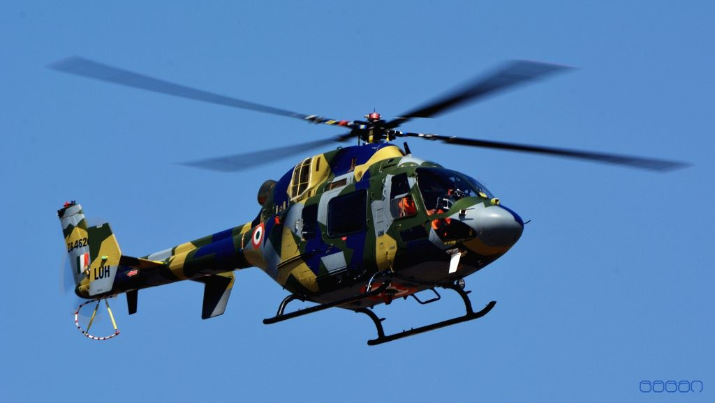 : State-run Hindustan Aeronautics Ltd (HAL) has test flown a prototype of its Light Utility Helicopter (LUH) up to 6km altitude in Bengaluru on Monday..