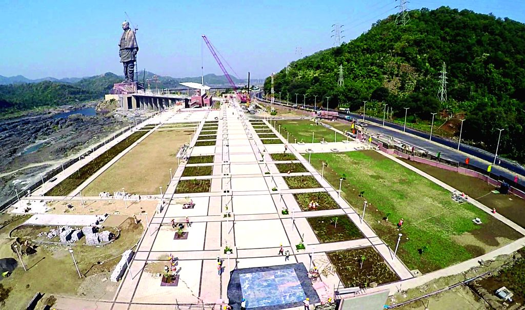 'Statue of Unity'. (File Photo: IANS)