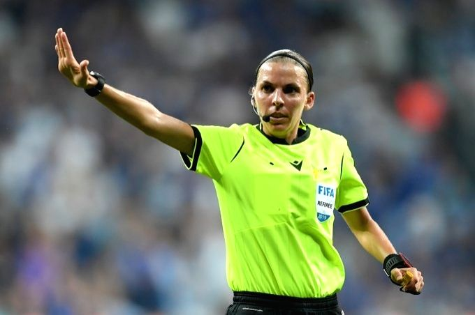 Stephanie Frappart first woman to referee in men's Champions League game