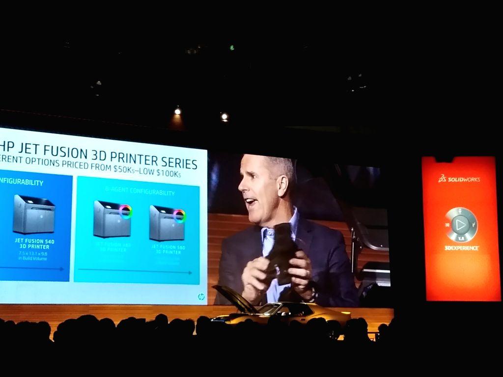 Stephen Nigro,  President,  3D Printing Business,  HP Inc (Photo: IANS)