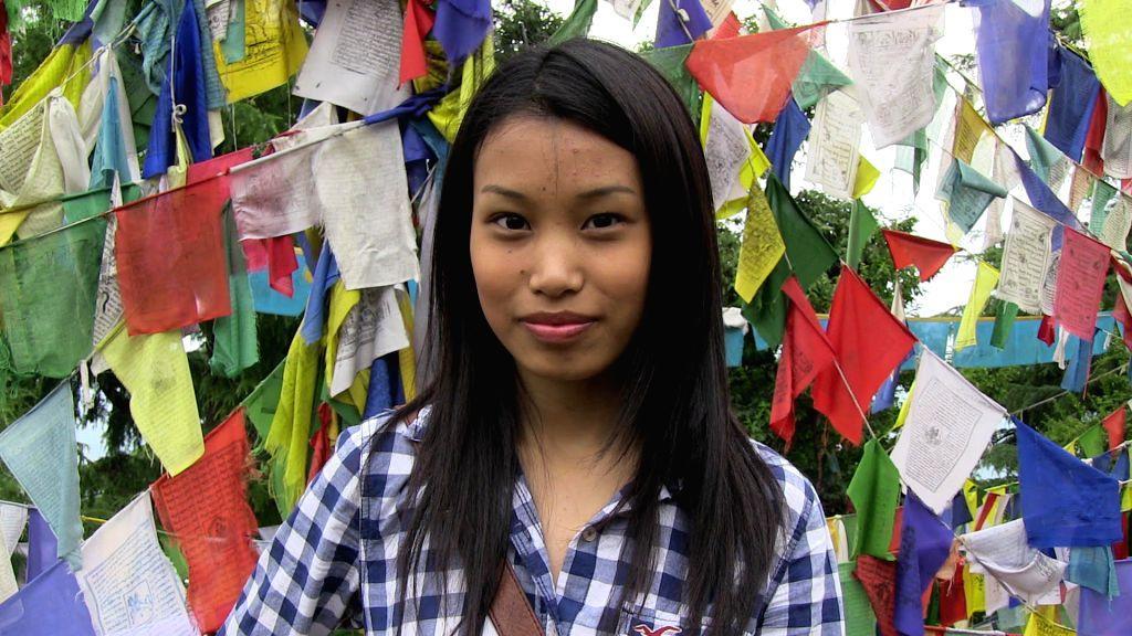 Still of film `Miss Tibet`