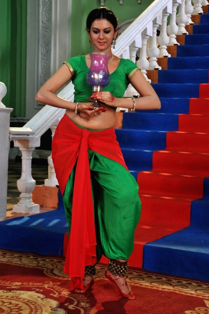 Still of Telugu film `Chandrika`.