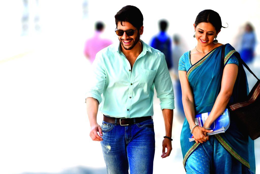 Still of Telugu film Rarandoi Veduka Chuddam.