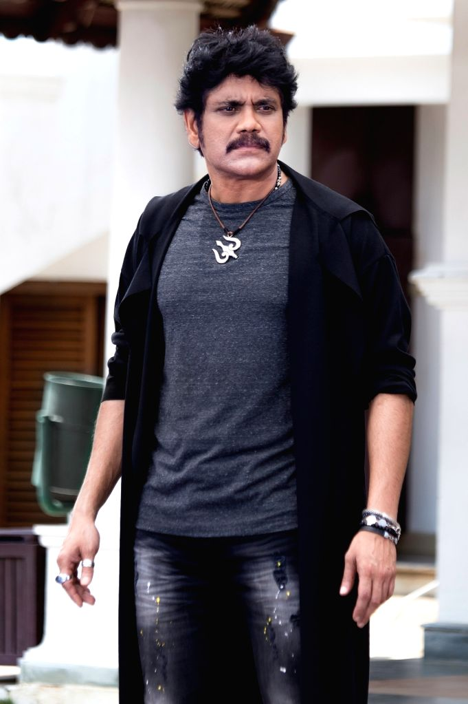 Stills from Actor Akkineni Nagarjuna in Hyderabad. - Akkineni Nagarjuna