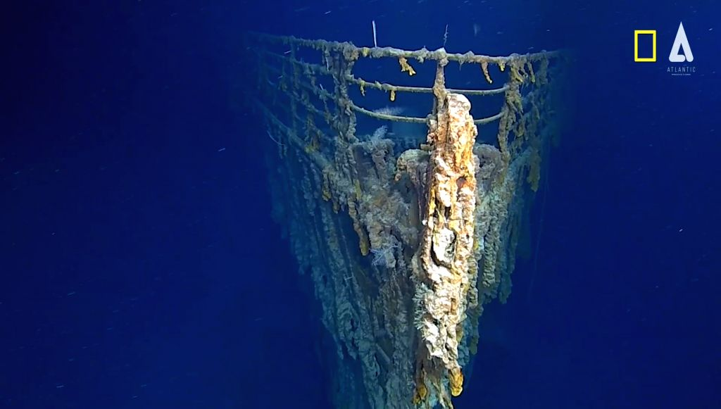 "Stills from new documentary titled ""Mission Titanic"" by National Geographic which will release globally next year."