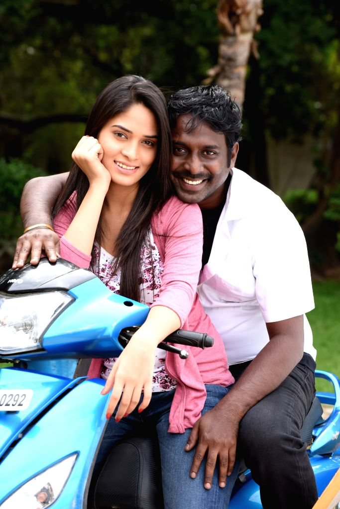 Stills from Tamil film `Jigina`.