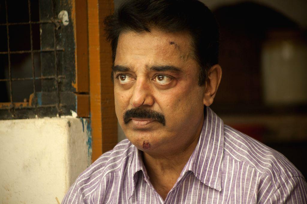 Stills from Tamil film `Papanasam`.