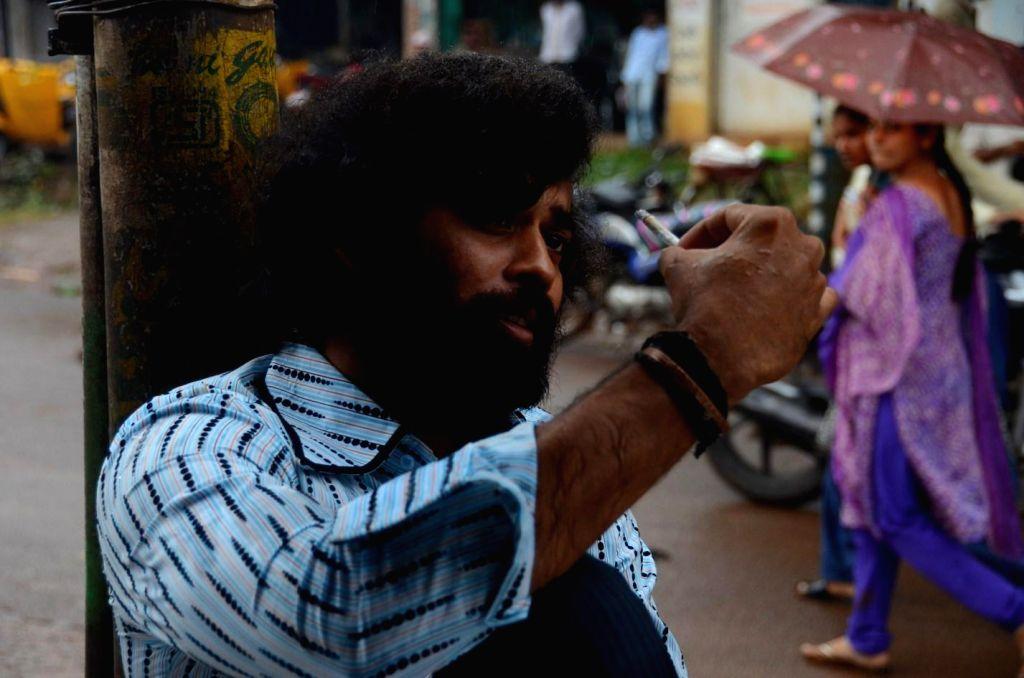 Stills from Tamil film `Porkuthirai`.