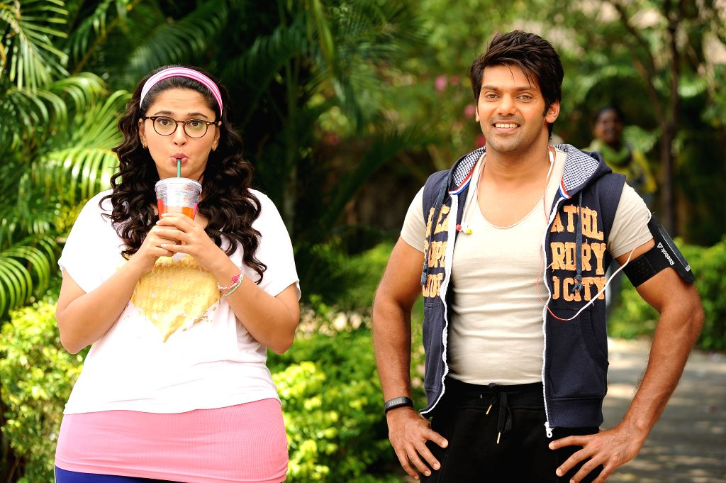 Stills from Tamil film `Size Zero`.
