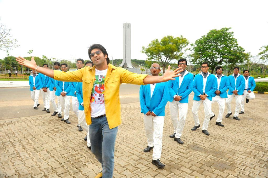 Stills from Tamil film `Vasuvum Saravananum Onna Padichavanga`.