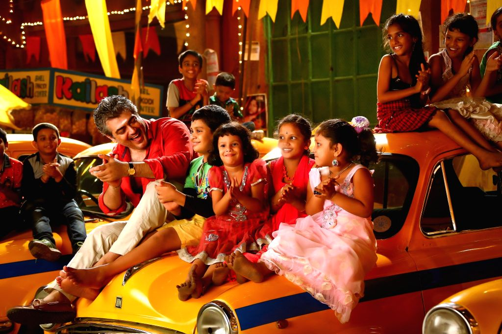 Stills from Tamil `Vedalam` .