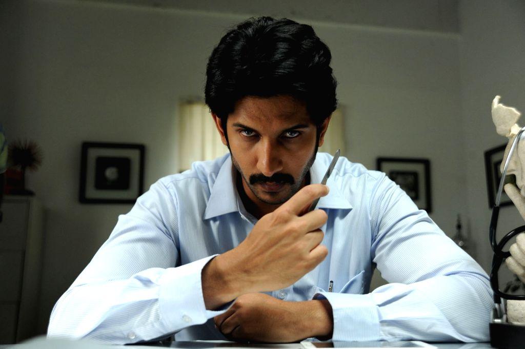 Stills from Telugu film 'Crime 23' in Hyderabad.