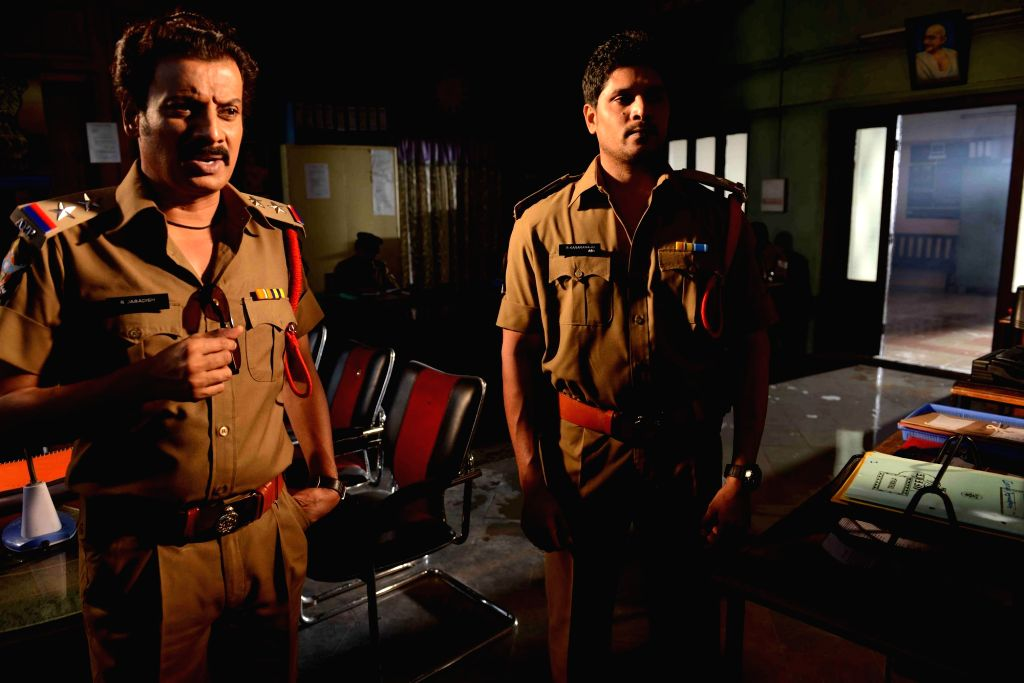 Stills from Telugu film `Criminals`.
