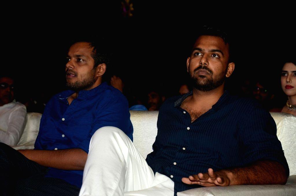 "Stills from Telugu film ""Falaknuma Das"" pre release in Hyderabad."