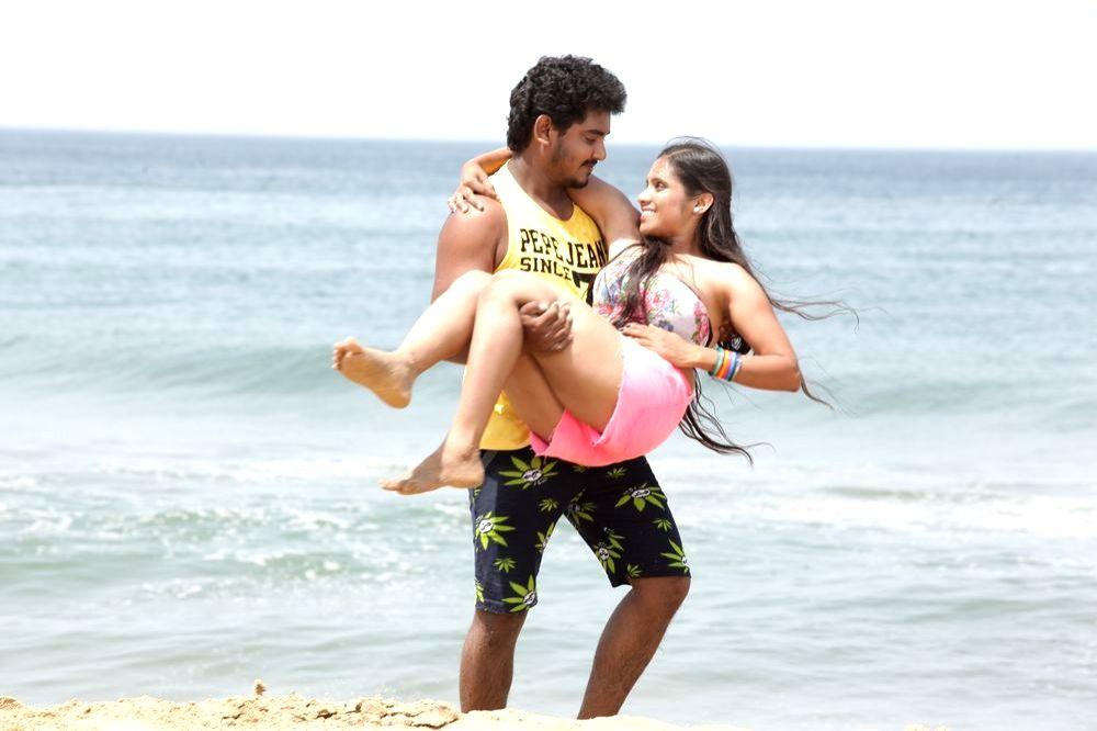 Stills from Telugu film `Ippatlo Ramudila Seethala Evaruntaarandi`.