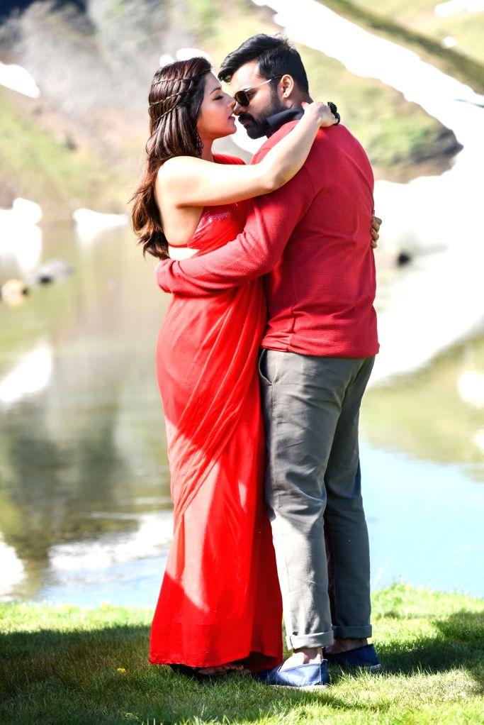 """Stills from Telugu film """"Jawaan"""" in Hyderabad."""