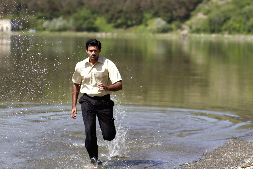 Stills from Telugu film `Kanche`.
