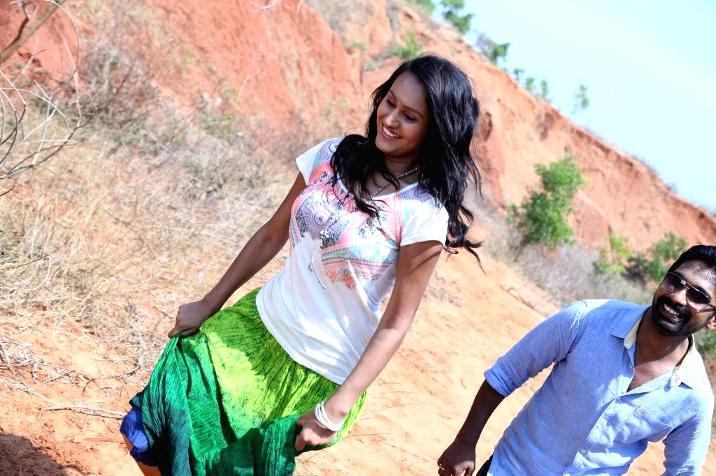 Stills from Telugu film `Kathanam`.