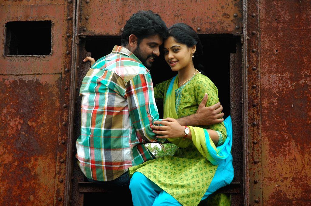 Stills from Telugu film `Kedi Billa Killadi Ranga`.