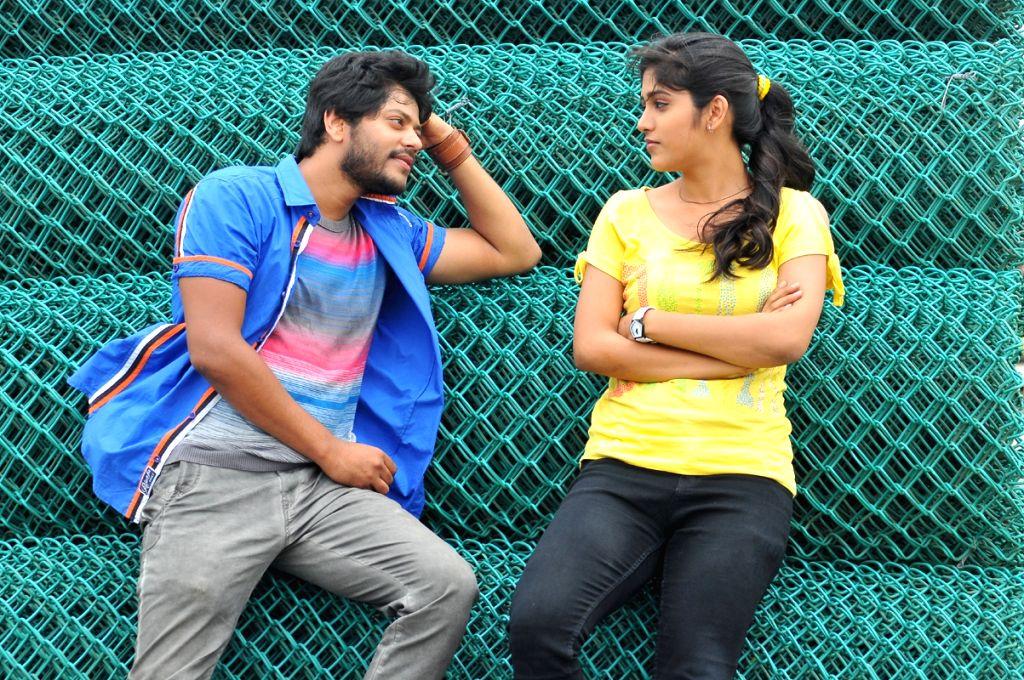 Stills from Telugu film `Ketugadu`.