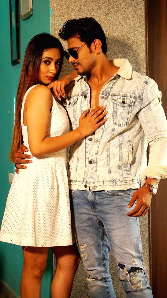 """Stills from Telugu film """"KS 100"""" in Hyderabad."""