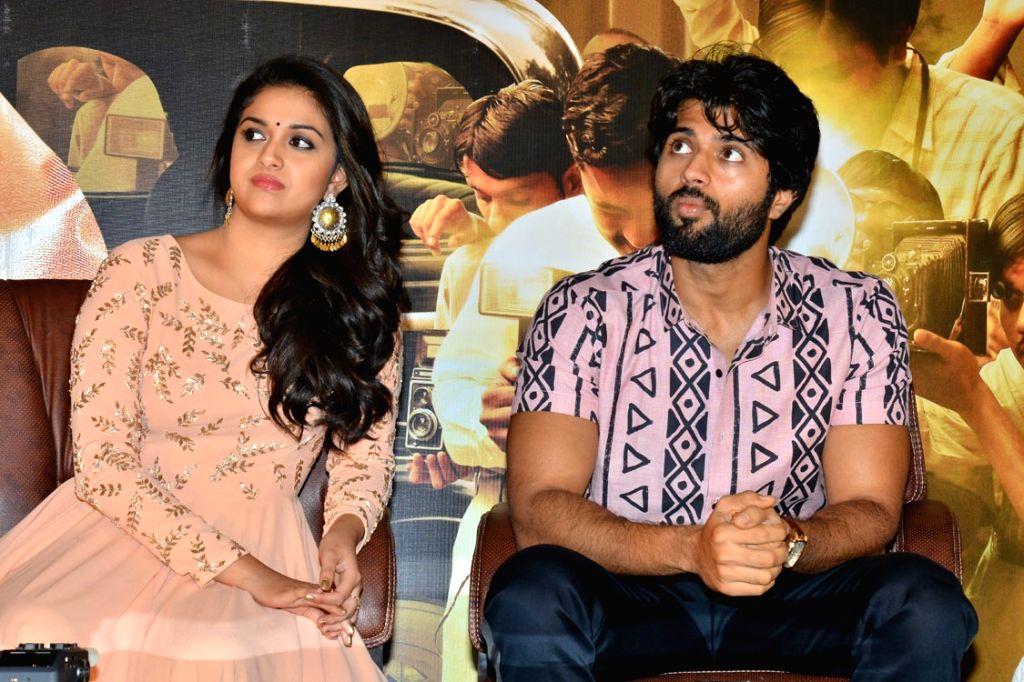 Stills from Telugu film 'Mahanati' in Hyderabad.