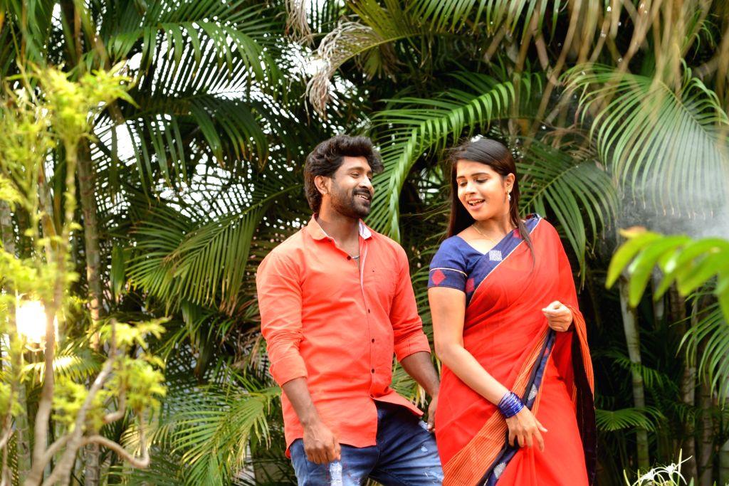 "Stills from Telugu film ""Mera Dost"" in Hyderabad."
