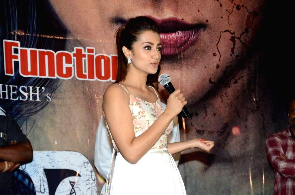 Stills from telugu film 'Mohini'press meet in Hyderabad.
