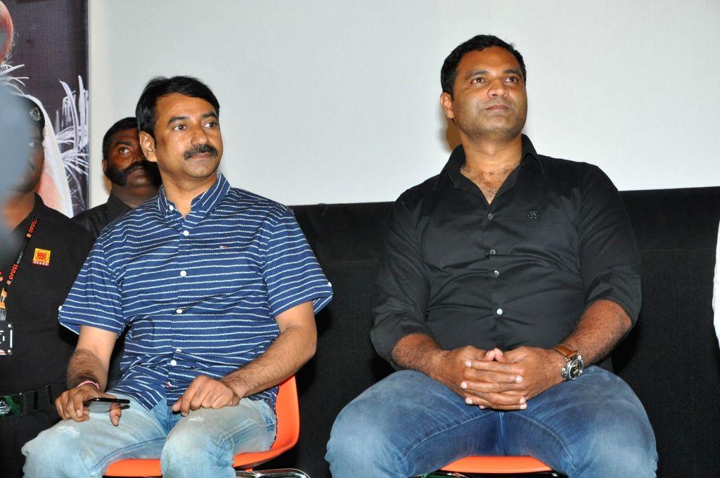 "Stills from Telugu film ""Nene Raju Nene Mantri"" in Hyderabad."
