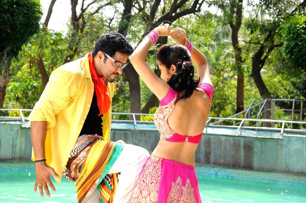 Stills from Telugu film `Ninne Korukunta`.