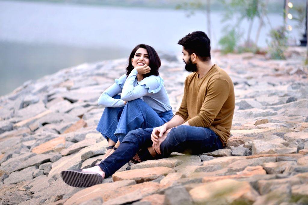 "Stills from Telugu film ""Oh Baby"" in Hyderabad."