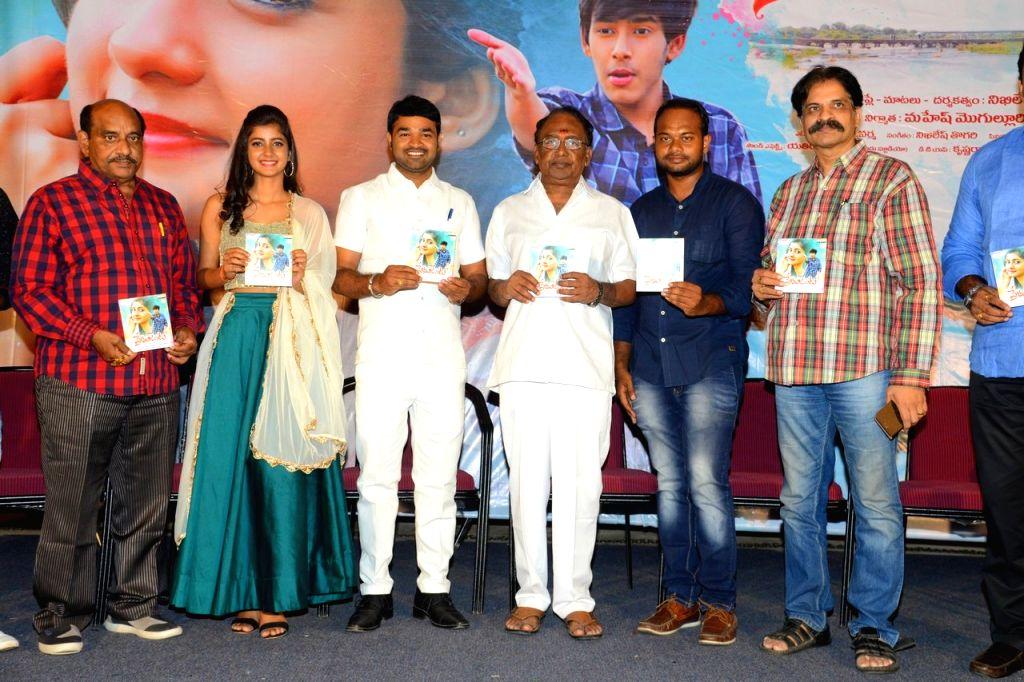 """Stills from Telugu film """"Prema Janta"""" Press meet in Hyderabad."""