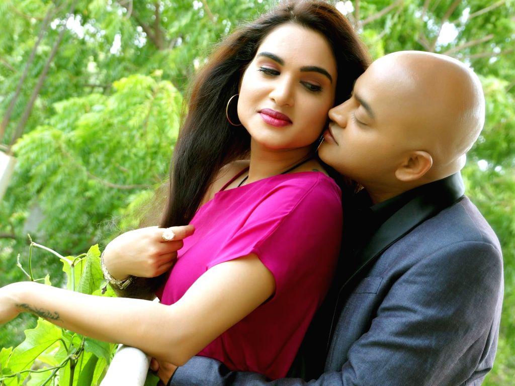 """Stills from Telugu film """"Raavoyi Maa Intiki"""" in Hyderabad."""