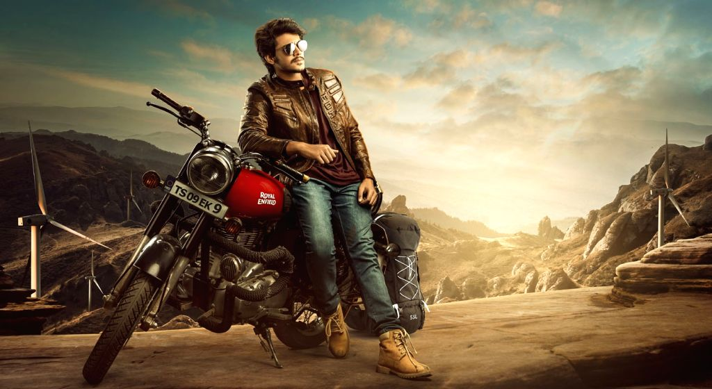"Stills from Telugu film ""Rajdooth"" in Hyderabad."