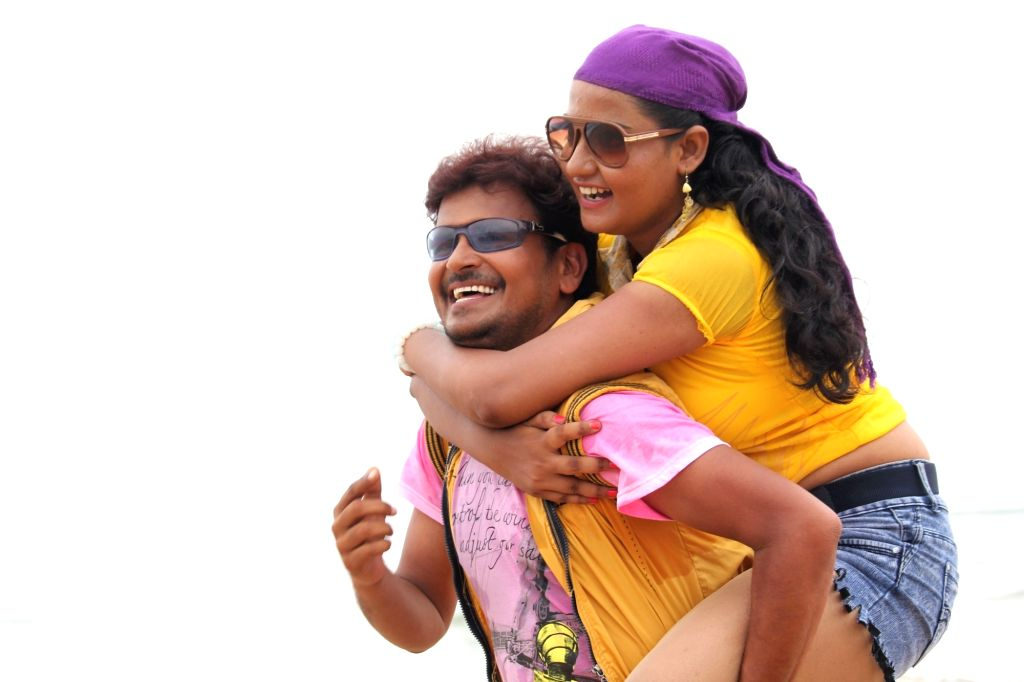 Stills from Telugu film `Rendu Aksharalu`