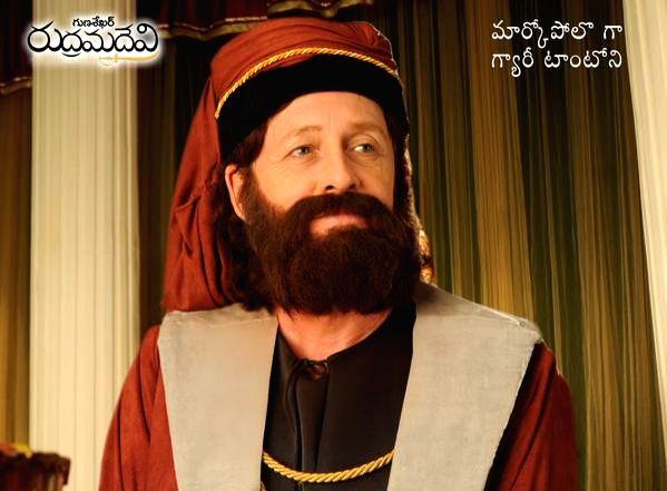 Stills from Telugu film `Rudhramadevi`.