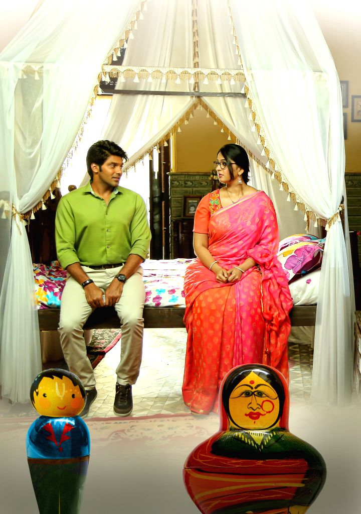 Stills from Telugu film `Size Zero`.