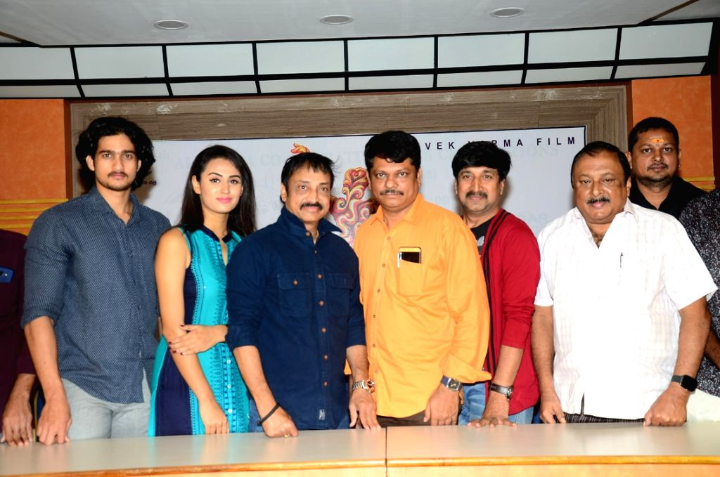 "Stills from Telugu film ""Swayamvara"" in Hyderabad."