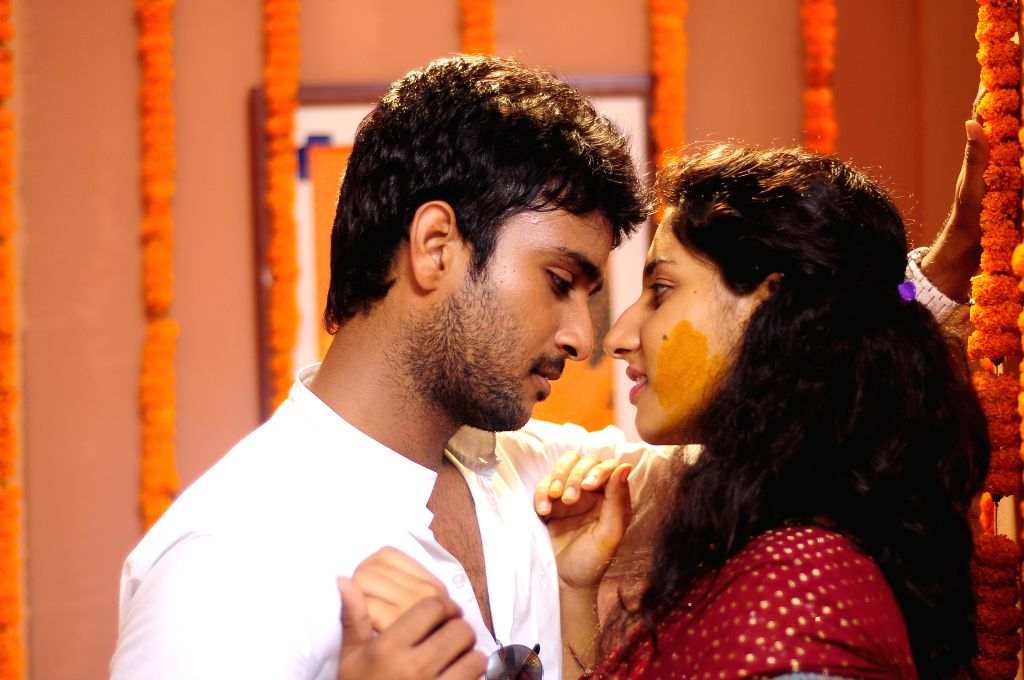 Stills from Telugu film `Tondi` .