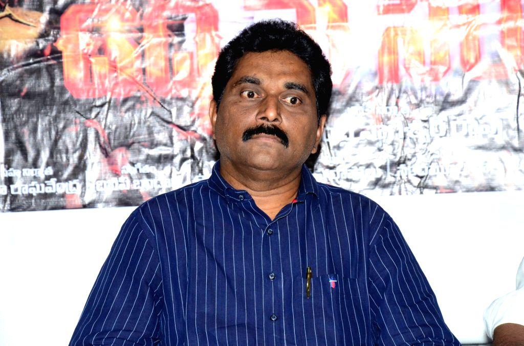"Stills from Telugu film ""Udyama Simham"" Press Meet in Hyderabad."