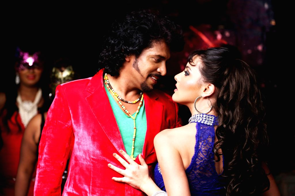 Stills from Telugu film `Upendra 2`.