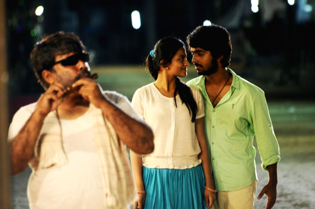 Stills from Telugu film Yennachu Yedhachu.